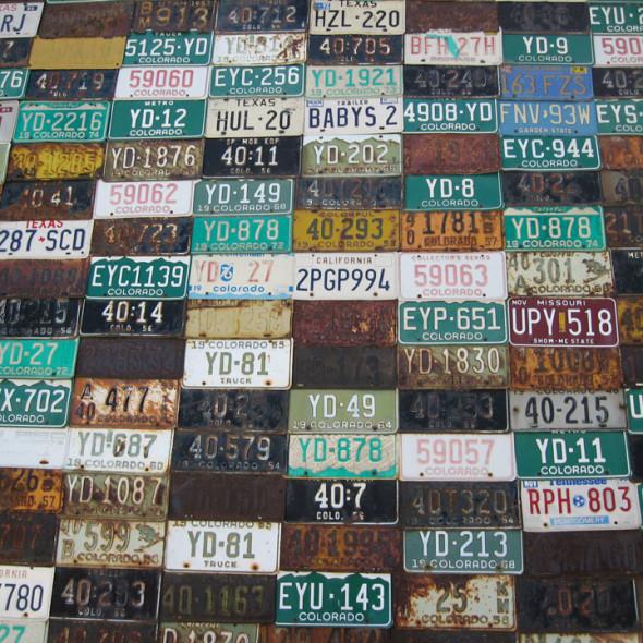 CB license plates