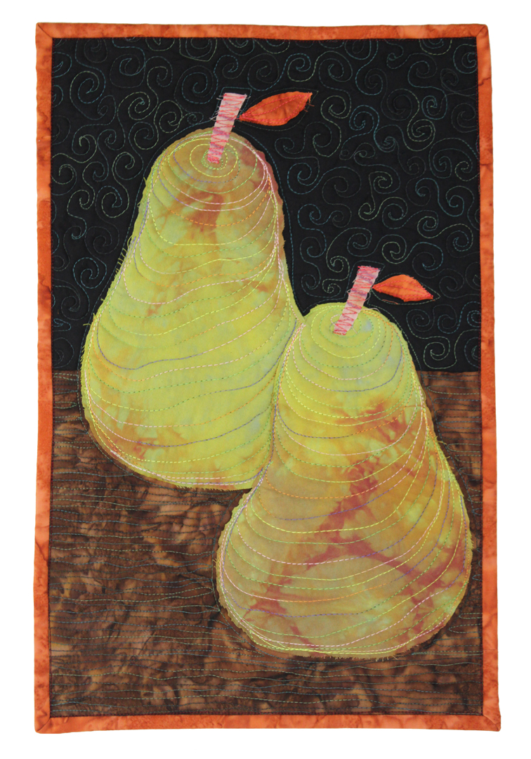 Two Pears Still Life