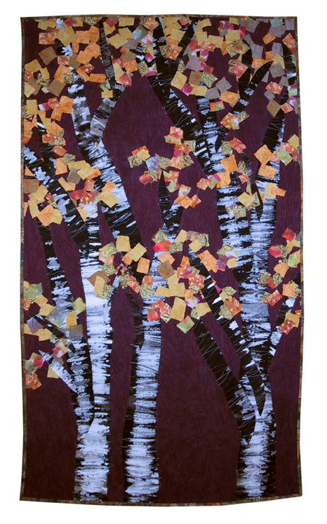 aspens quilt by joyce robinson