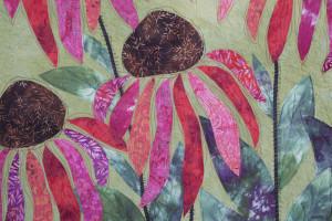 coneflower 2 by joyce robinson detail