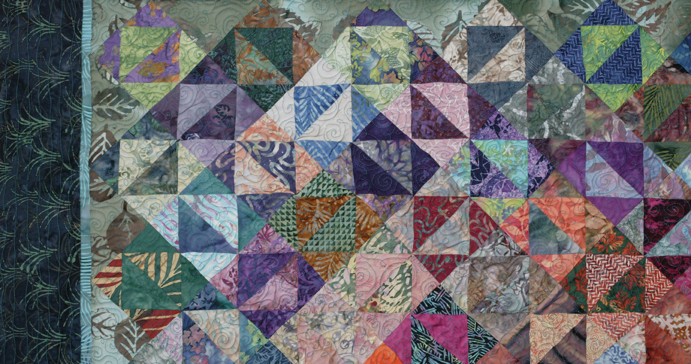 flying geese exchange detail by joyce robinson