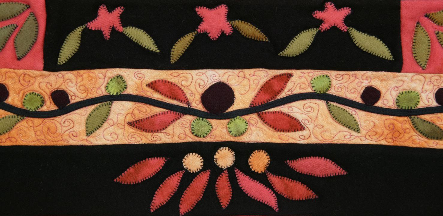 olivias garden detail by joyce robinson