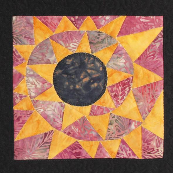 spiral sun by joyce robinson detail