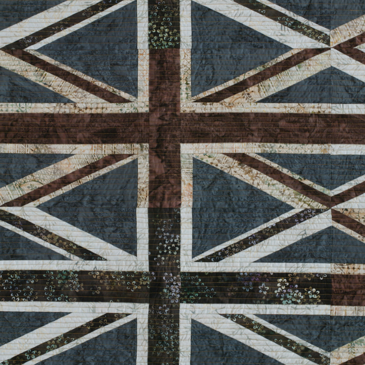 union jack by joyce robinson detail