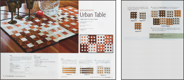 urban table
