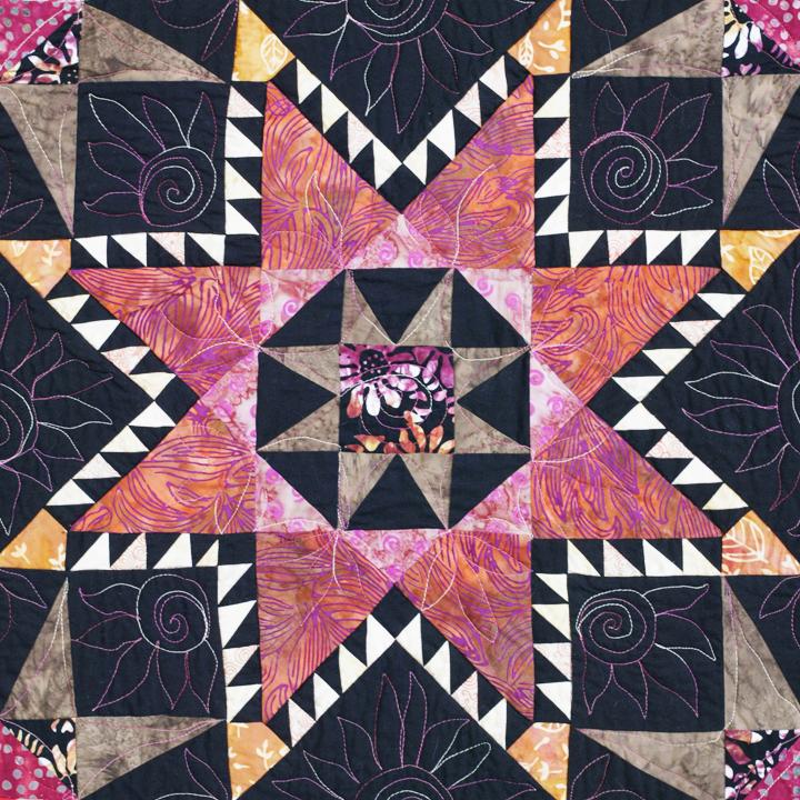 wild star by joyce robinson detail